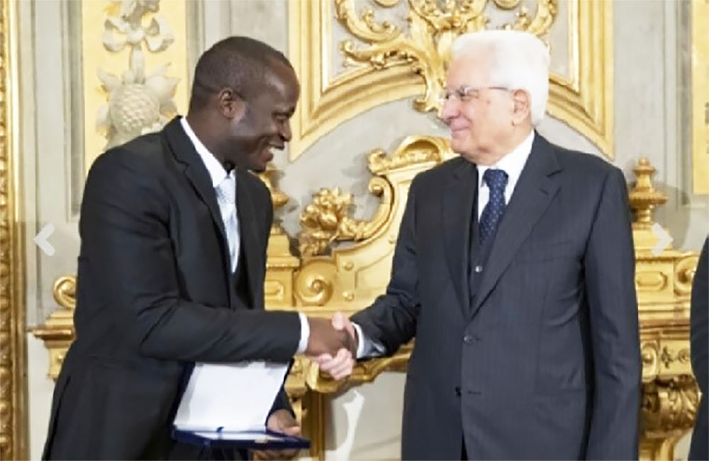 Kumasi Technical University's Alumnus Receives Eni Africa Prize