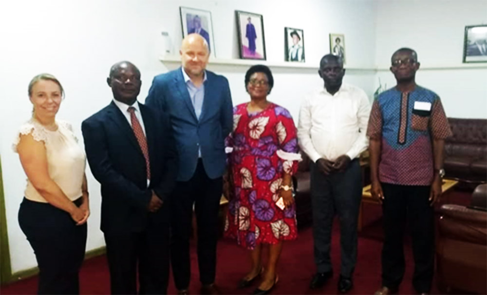 The Canadian High Commission Pays Courtesy Call On Kumasi Technical University