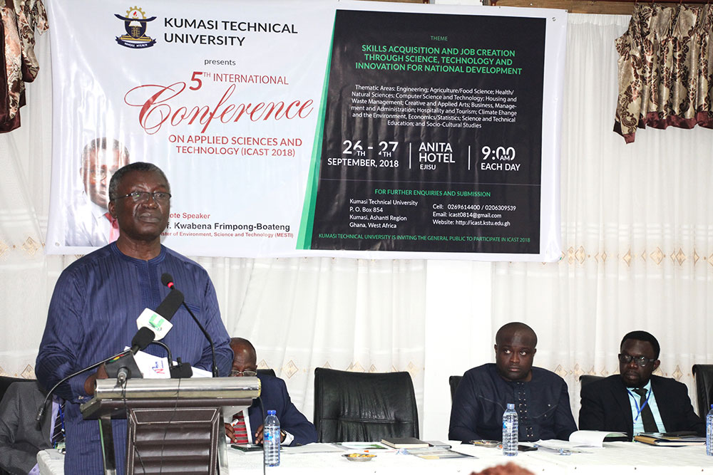 Technical Universities Have Crucial Role To Play In National Development-Prof Frimpong –Boateng