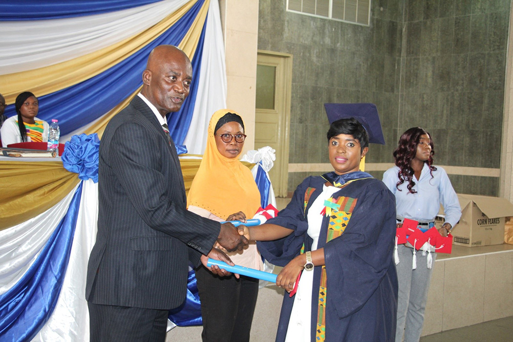 Graduands Told To Be More Productive