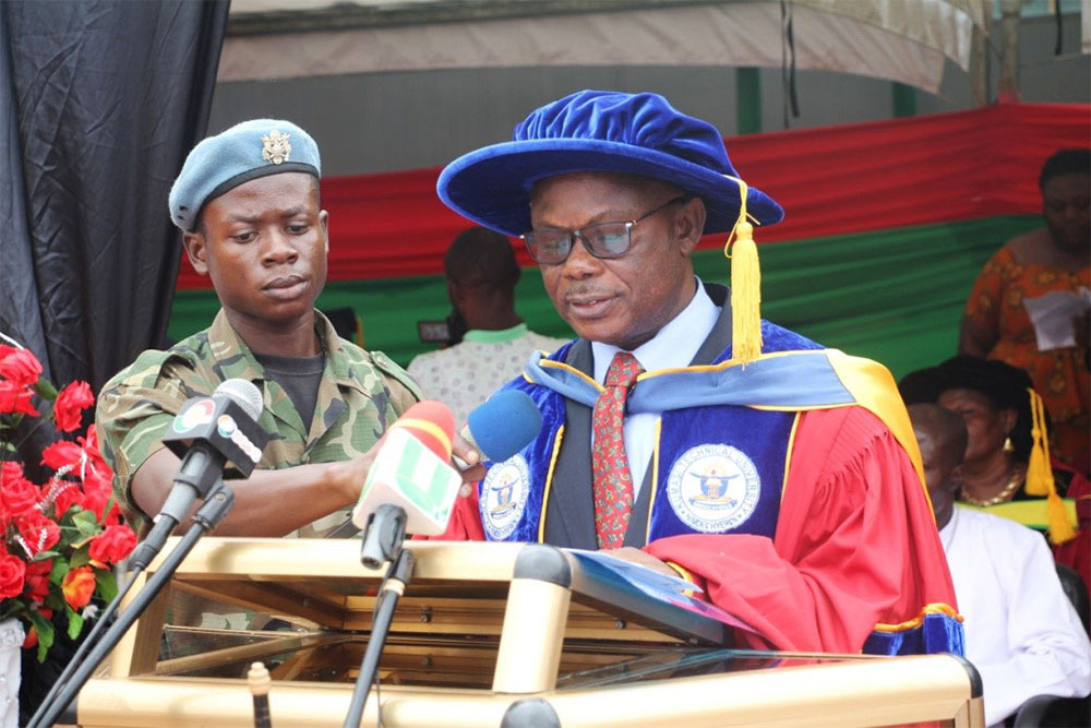 Kumasi Technical University Holds Its 27th Matriculation Ceremony
