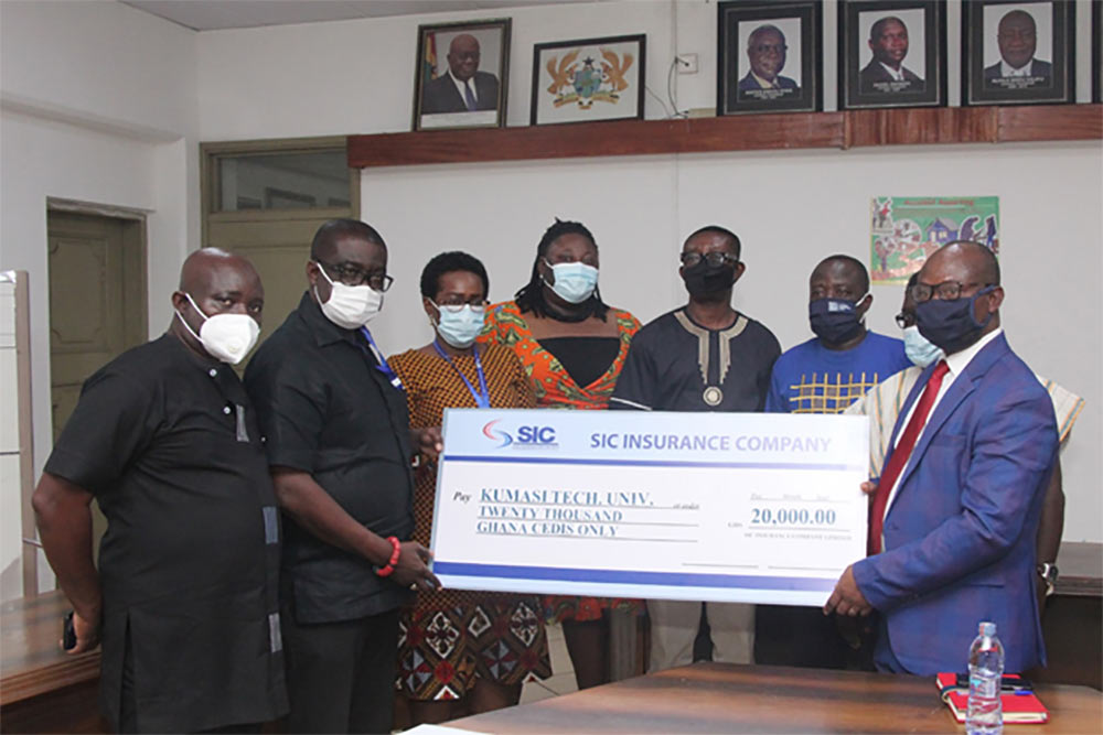 State Insurance Company Donates Cash To KsTU