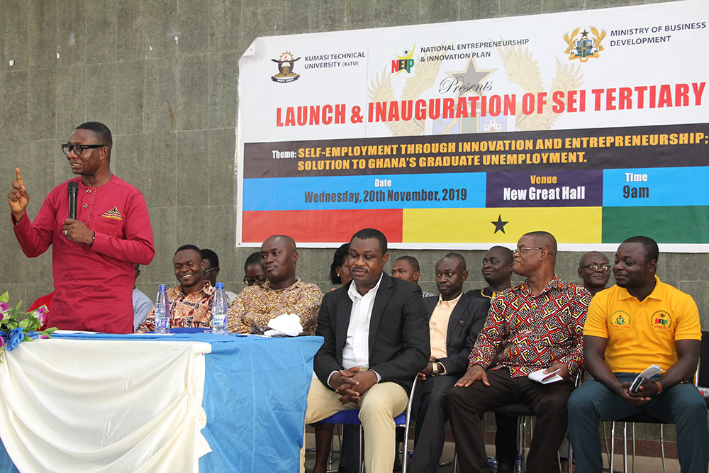 Student Entrepreneurship Initiative Launched at Kumasi Technical University