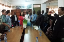 Chinese Delegation Visits KsTU