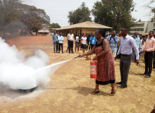 Accident Prevention and Fire Fighting Training Programme for Staff and Vendors of KsTU
