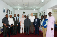 Delegation from Gelsenkirchen Bocholt Recklinghausen University of Applied Sciences pays working visit to KsTU