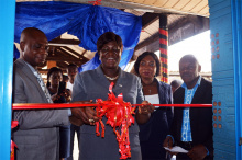 "Sahamlife Renovates ""The Pitch"" At Kumasi Technical University"