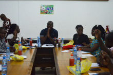 Senior Members in Administration from Technical Universities confer at KsTU