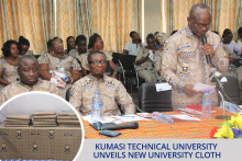 Kumasi Technical University Unveils New University Cloth
